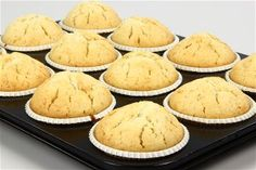 Amerikanske muffins grundopskrift 4