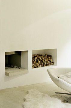 1000 images about modern fireplaces on pinterest modern fireplaces fireplaces and fire places - Lakonis architekten ...