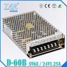 16.10$  Watch now - http://alizew.shopchina.info/go.php?t=32665805758 - double sortie 5 V 24 V D 60 W Bbloc d'alimentation AC a DC DC6A DC1.25A  #magazine