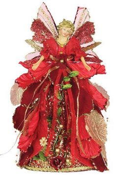 Christmas Tree Toppers, Christmas Angels, Christmas Holidays, Christmas Wreaths, Christmas Crafts, Christmas Decorations, Girls Designer Dresses, Holiday Fun, Holiday Decor