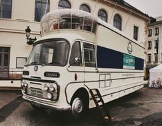1967 Bedford SB3 Mobile Cinema Front