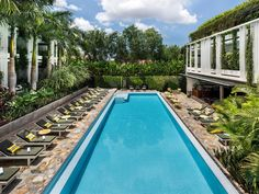 """Viroth's Hotel, in Siem Reap, Cambodia has come out top of the 2018 Best Hotels in the world for travellers, as rated by TripAdvisor. """"Chic, tranquil, green and luxurious oasis. Friendly, helpful and yet unobtrusive service. Viroth's is not just a great place to see the stunning temples, but a destination in its own right,"""" TripAdvisor says. With 95 per cent of their 994 reviews being five-star, it's no wonder Viroth took the top spot. Beautiful Hotels, Beautiful Places, Great Places, Places To See, Staircase Outdoor, Triple Room, Royal Garden, Hotel Guest, Siem Reap"""