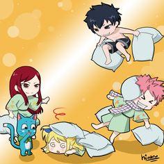 Pillow fight by hinaru-chan.deviantart.com on @deviantART