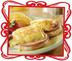 Canadian bacon, Egg benedict and The canadian on Pinterest