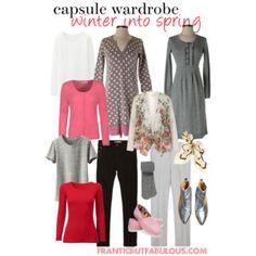 capsule wardrobe :: winter into spring