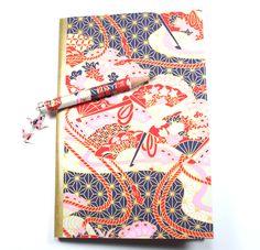 Petit carnet de note en papier japonais bleu (washi) : Carnets, agendas par paper-art