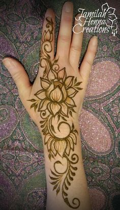 Happy Lotus Henna www.JamilahHennaCreations.com