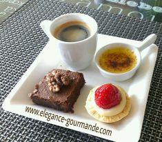 Café gourmand - Crème brûlée de Paul Bocuse