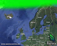 Aurora Borealis information service for Europe. Telling you when the Northern Lights are likely to appear. Real-time Aurora Forecasts and live solar wind data.