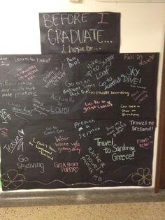 Before I Graduate Lourdes passive program, Sept 2013