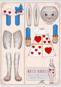 Alice's adventures in WonderlandPaper DollsKids' by Oxfordoll