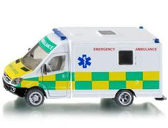 The 1/50 British Ambulance from the Siku Super Series - Discounts on all Siku Diecast Models at Wonderland Models.    One of our favourite models in the Siku Super Series Emergency Services range is the Siku British Ambulance.    Siku manufacture wonderful, amazingly accurate and detailed diecast models of all sorts of vehicles, particularly emergency services vehicles including this British Ambulance which can be complemented by any of the items in the Super Series range.