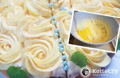 Delikatny krem do ozdabiania tortów i babeczek Polish Desserts, Polish Recipes, Icing Frosting, Wedding Desserts, Food Inspiration, Delicious Desserts, Sweet Tooth, Cake Decorating, Good Food