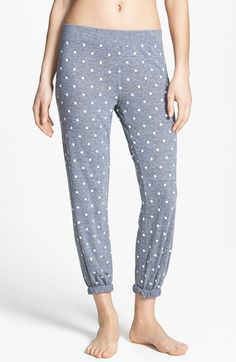 Add polka dots to your loungewear. | @Nordstrom