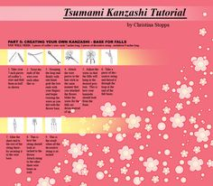 Kanzashi Tutorial - Part 5 by ~Kurokami-Kanzashi on deviantART