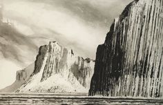 Shiant - Garbh Eilean by Norman Ackroyd Ra exhibiting artist . Norman Ackroyd's travels in the last two years have taken him not only to famili Norman Ackroyd, Landscape Art, Great Artists, Light In The Dark, Contemporary Art, Illustration Art, Illustrations, Art Gallery, Fine Art