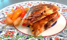 Delicious summer meal. http://pattyandersonsblog.blogspot.com/2013/07/steak-and-cheese-quesadilla.html