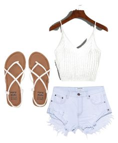 """""""Fun In The Sun #8"""" by salmadivagirl on Polyvore featuring One Teaspoon and Billabong"""