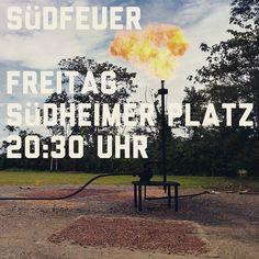 Nächster Gig am Freitag  #Stuttgart #Stuttgartsüd #Heslach #Südfeuer