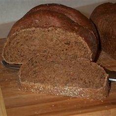 Bread Machine Pumpernickel Bread