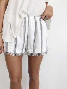 beach fray shorts | ROOLEE