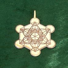 Metatron Cube -A known harmonious structure from sacred geometry named after the Archangel Metatron. who is in charge of all of creation. This shape holds all possible patterns of reality & creation. The pendant is used to open our consciousness to higher levels of existence.  It is a sacred geometry symbol for inner peace & spirituality. It brings a strong sense of wonder, connection, & an inner peace.  Simply click on the image to order. www.spiritualgrowthtools.co.uk $1,138