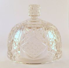 Vintage Glass Cheese Dome or Butter Dome