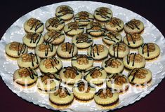 Ořechové dortíčky s vaječným likérem
