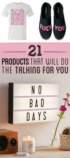 21 Products That Will Do The Talking For You - Modernes Cool Gifts, Best Gifts, Amazing Gifts, Diy Gifts, Buzzfeed Gifts, Freebies By Mail, No Bad Days, Christmas Gifts For Husband, Grandpa Gifts