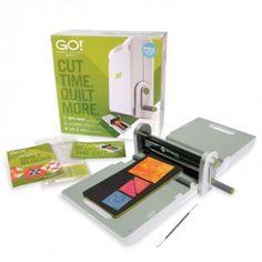 Máquina de Corte de Tecidos ACCUQUILT GO + Faca e Base!