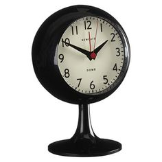A clock that seems to straggle two eras, but to good effect - the Newgate Footed Retro Alarm Clock. Retro Alarm Clock, Collections Of Objects, Home Accessories, Home Goods, Wall Art, Dressing Table, Nostalgia, Home Decor, Times