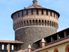 Castello Sforzesco, Milan Italy