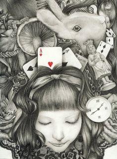 Alice in wonderland by mckenzie.5