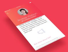 "Echa un vistazo a mi proyecto @Behance: ""Sendig Resume Interaction Proposal"" https://www.behance.net/gallery/59529427/Sendig-Resume-Interaction-Proposal"