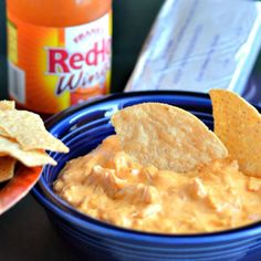 Crock Pot Buffalo Chicken Dip- this was a huge hit at the last party I attended.  So easy and so loved- your welcome!