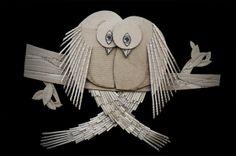 The Birds of Valentine by Ali Golzad, via Behance