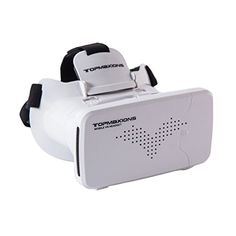 3D VR Glasses, Topmaxions Virtual Reality Headset 3D Viewing Goggles Christmas gift ideas for kids here you will find robots with a personality, quadcopter camera, finger monkey toys, cool night lights for kids, vtech kidizoom smartwatch, toy helicopter ball, ballerina musical jewelry boxes and much more!