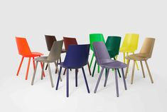 For Sale on - celebrates ten years of chair Houdini by Stefan Diez with a curated palette of anniversary colors. In his search for an ergonomic, organic seating Top 14, Eames, Hotel Berlin, Ikea, Wire Chair, Modern Stools, Metal Chairs, Danish Modern, Vintage Furniture