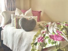 Make cute throw pillows with comfy sweaters or tshirts