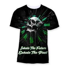 Inhale The Future Sublimation T-Shirt