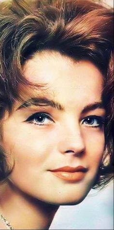 """Romy  """"I don't know anything about life, but I know everything about cinema."""""""