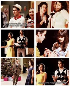 "Blaine & Rachel (""Pot O' Gold"" - ""Blame It On The Alcohol"" - ""The First Time"" - ""Extraordinary Merry Christmas"")"
