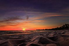 Henderson Sunset On The Beach by Bradley P Smith