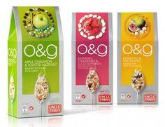 Овсянка O&G akabranddesign.com.au  Дизайн от AKA Brand Design.