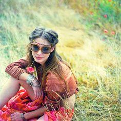 bohemian boho style hippy gypsy fashion indie folk free people hippie dress