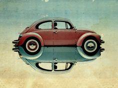 Love Bug VW beetle