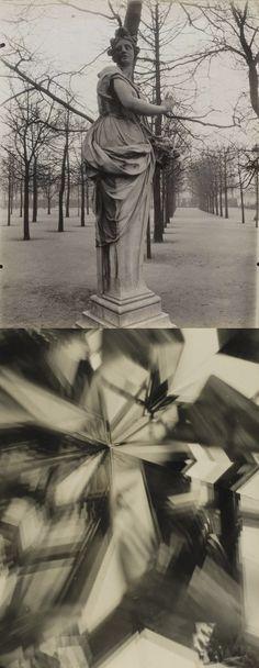Los vertiginosos adelantos del cambio de siglo constituyeron la nueva fotografía.1907-1917 / Eugene Atget (París) - Alvin Langdon Coburn (Vortograph)