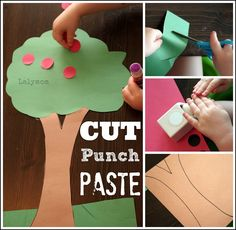 7 Fall Fine Motor Activities for Kids Including Apple Tree from Lalymom