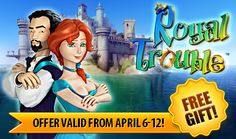 Last chance to get the absorbing game Royal Trouble: Hidden Adventures for FREE on iOS, Google Play, Kindle Fire and Mac! Hurry as this weekly giveaway ends tonight at midnight! Learn more! http://www.g5e.com/sale