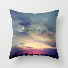 Anything could happen Throw Pillow by M✿nika  Strigel - $20.00